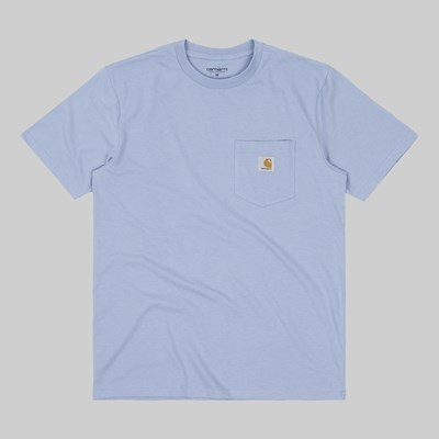 CARHARTT WIP SS POCKET T-SHIRT WAVE