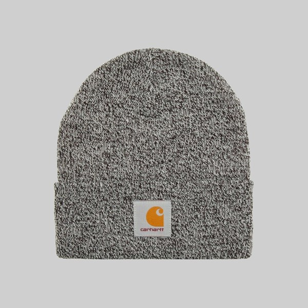 CARHARTT WIP SCOTT WATCH HAT HEATHER BLACK