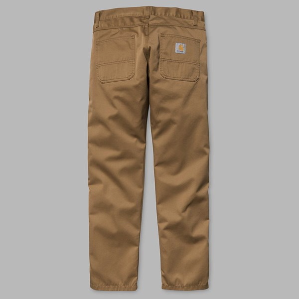 d7cdac0f CARHARTT SKILL PANT HAMILTON BROWN | Carhartt Trousers