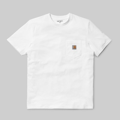 CARHARTT WIP SS POCKET T-SHIRT WHITE