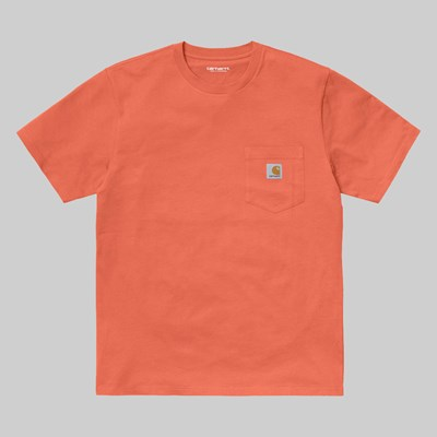 CARHARTT WIP SS POCKET T-SHIRT SHIMP