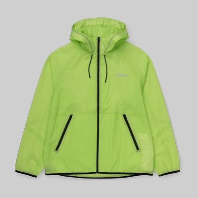 CARHARTT WIP TURRELL JACKET LIME REFLECTIVE GREY