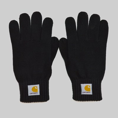 CARHARTT WATCH GLOVES BLACK