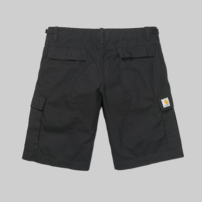 CARHARTT WIP AVIATION SHORT BLACK RINSED