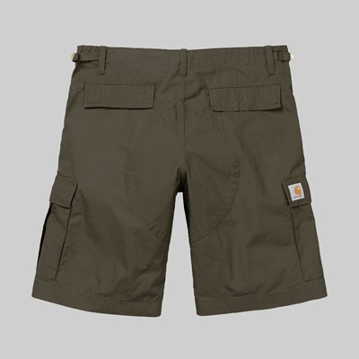 CARHARTT WIP AVIATION SHORT CYPRESS RINSED