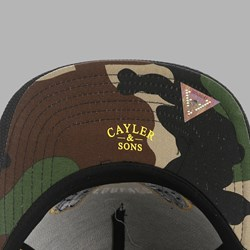 Cayler & Sons Forever Cap Black-Yellow