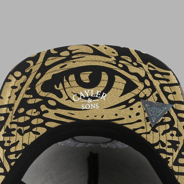Cayler & Sons Money Power Respect Cap Black-Gold