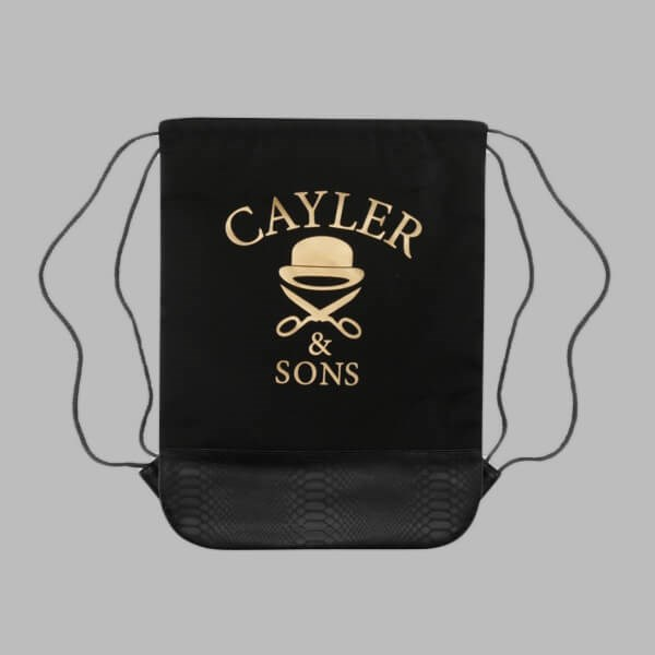 Cayler & Sons Money Power Respect Gymbag Black-Gold