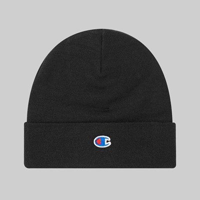 CHAMPION REVERSE WEAVE 'SMALL C' BEANIE BLACK