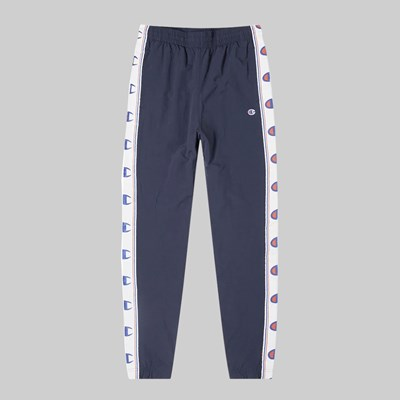 CHAMPION REVERSE WEAVE ELASTIC CUFF PANTS NAVY