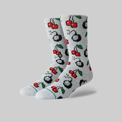 STANCE SOCKS CHERRI BOMB HEATHER GREY