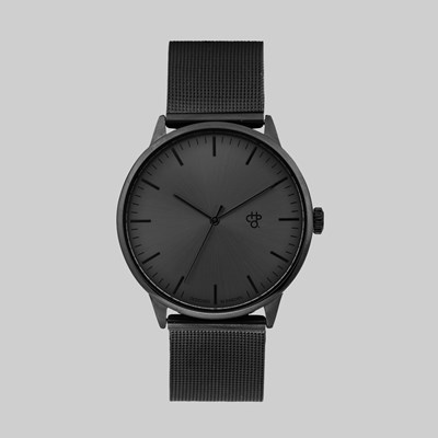 CHPO BRAND NANDO METAL WATCH BLACK BLACK