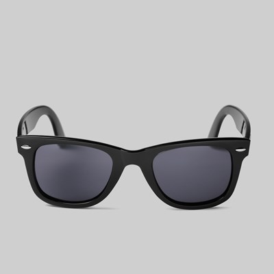 CHPO BRAND NOWAY SUNGLASSES RECYCLED BLACK