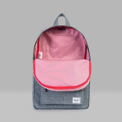 HERSCHEL CLASSIC BACKPACK RAVEN CROSSHATCH
