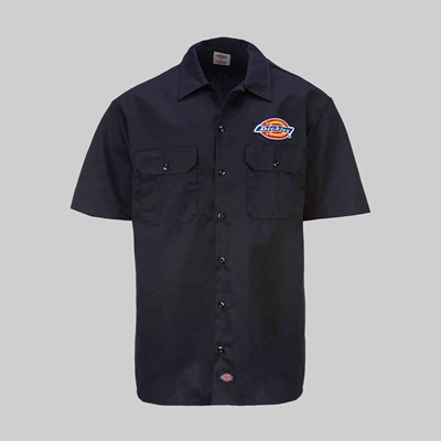 DICKIES CLINTONDALE SS SHIRT BLACK
