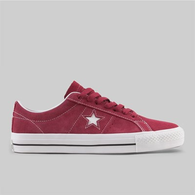 CONVERSE CONS ONE STAR PRO OX RHUBARB BLACK