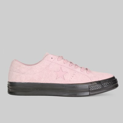 CONVERSE ONE STAR OX PLUM CHALK BLACK BLACK