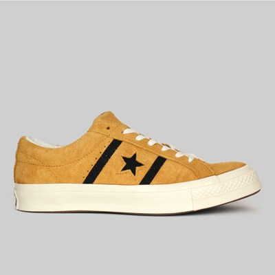 CONVERSE ONE STAR ACADEMY OX AMBER OCHRE BLACK