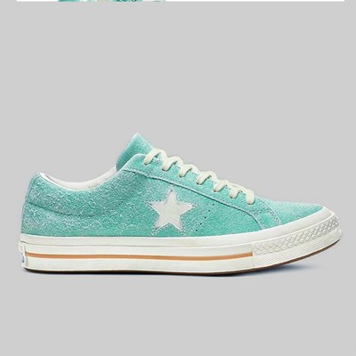 CONVERSE ONE STAR OX BOLD JADE EGRET