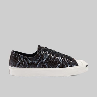 CONVERSE JACK PURCELL OX ARCHIVE REPTILE BLACK EGRET
