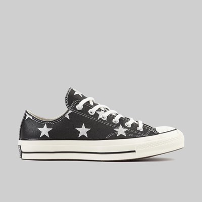 CONVERSE CHUCK 70 ARCHIVE LEATHER BLACK EGRET