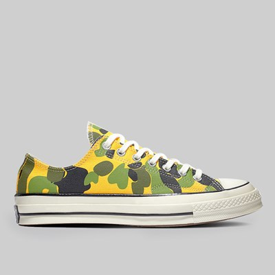 CONVERSE CHUCK 70 OX UNIVERSITY GOLD BLACK EGRET