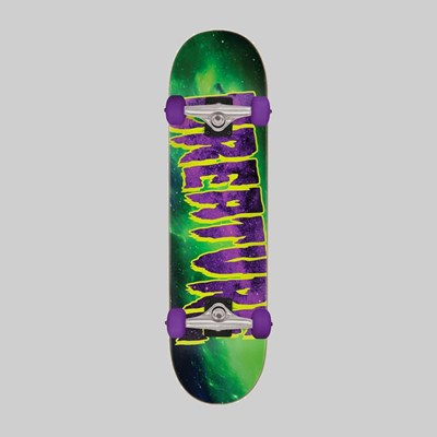 CREATURE SKATEBOARDS GALAXY COMPLETE GREEN 7.8 INCH