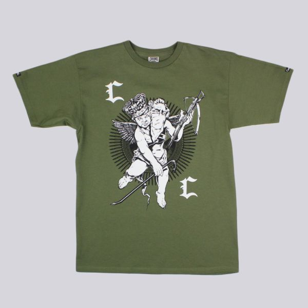 Crooks & Castles Hudson T Shirt Military