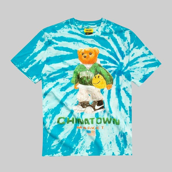 CHINATOWN MARKET SMILEY SKETCH BASKETBALL BEAR TEE