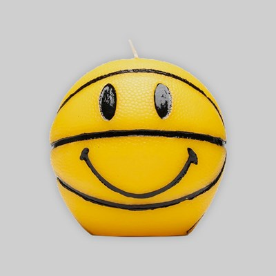 CHINATOWN MARKET SMILEY MINI BASKETBALL CANDLE