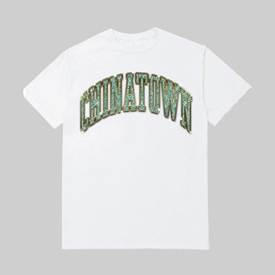CHINATOWN MARKET BLING ARC SS T-SHIRT WHITE