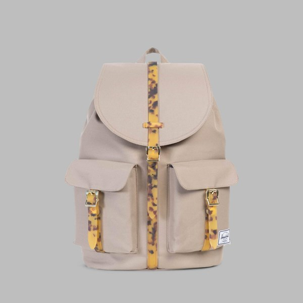 HERSCHEL DAWSON BACKPACK BRINDLE-TORTOISE SHELL RUBBER