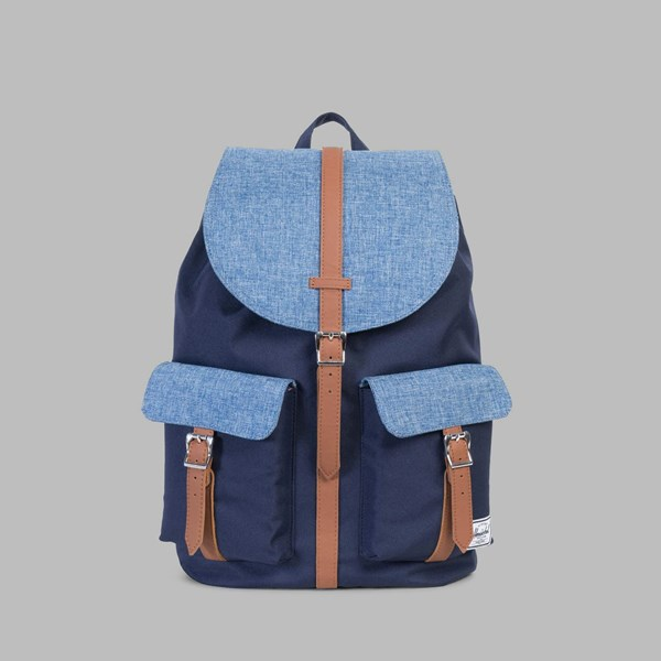 HERSCHEL DAWSON BACKPACK PEACOAT-LIMOGES CROSSHATCH