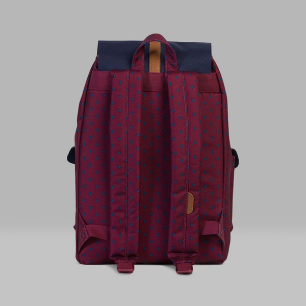 HERSCHEL DAWSON BACKPACK UNIVERSITY WINDSOR WINE