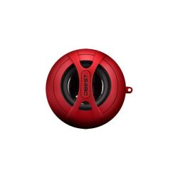 DBEST Rechargeable Mini-Speaker + MP3 Player Red