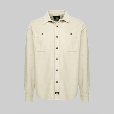 DICKIES BAYVILLE SHIRT OYSTER GREY