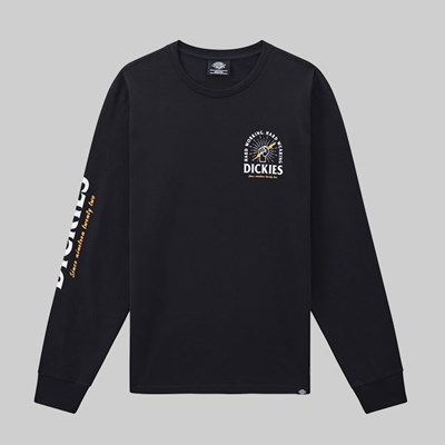 DICKIES BALDWIN LONG SLEEVE TEE BLACK