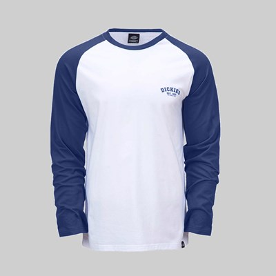 DICKIES BASEBALL SHIRT DEEP BLUE