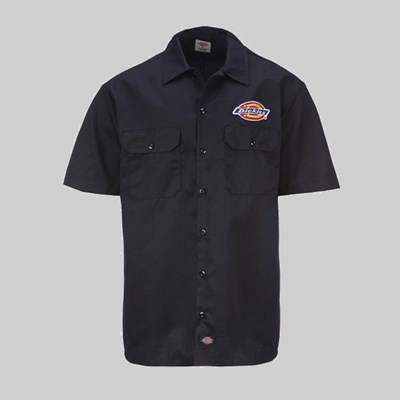DICKIES CLINTONDALE SHIRT BLACK