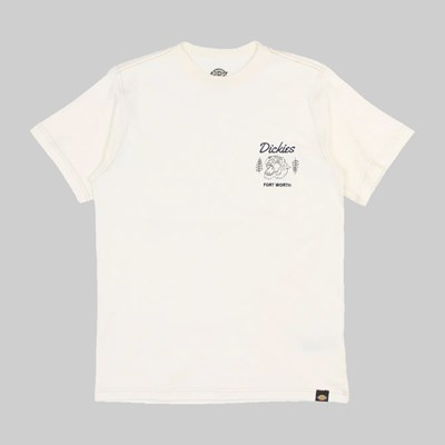 DICKIES HALMA SS BOX T-SHIRT ECRU