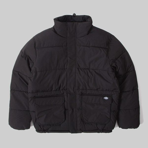 DICKIES OLATON PUFFER JACKET BLACK
