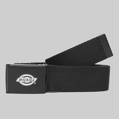DICKIES ORCUTT WEBBING BELT BLACK