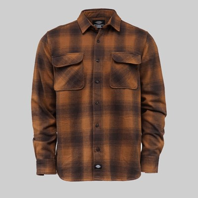 DICKIES WANETA SHIRT BROWN DUCK