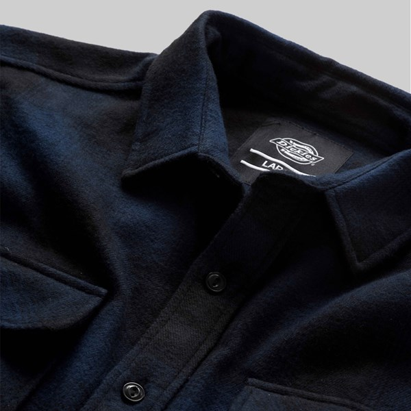 DICKIES WANETA SHIRT NAVY BLUE