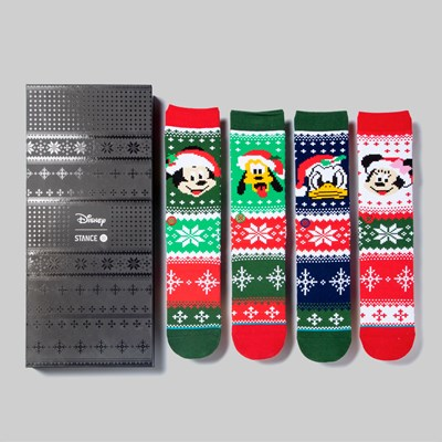 STANCE SOCKS X DISNEY 'CLAUS' BOX SET MULTI