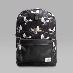 CAYLER & SONS DOVED OUT BACKPACK BLACK GREY