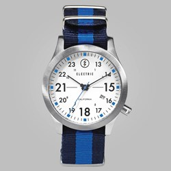 Electric FW02 NATO Watch White Royal