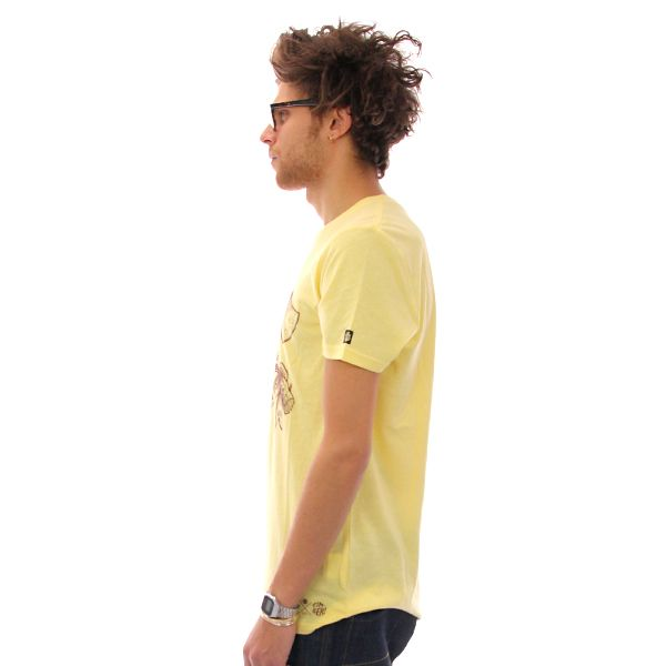 Element Chop Wood T Shirt Yellow Heather