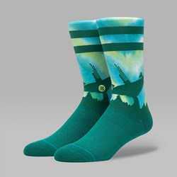 STANCE X STAR WARS ENDOR SOCKS GREEN