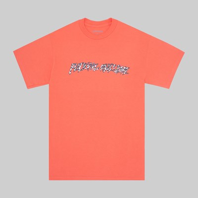 FUCKING AWESOME CHEETAH STAMP SS T-SHIRT PINK